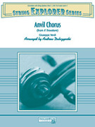 Cover icon of Anvil Chorus sheet music for string orchestra (full score) by Giuseppe Verdi and Andrew H. Dabczynski