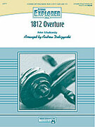Cover icon of 1812 Overture (COMPLETE) sheet music for string orchestra by Pyotr Ilyich Tchaikovsky