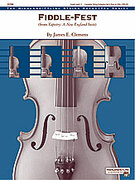 Cover icon of Fiddle-Fest sheet music for string orchestra (full score) by James Clemens