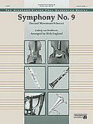 Cover icon of Symphony No. 9, 2nd Movement (COMPLETE) sheet music for full orchestra by Ludwig van Beethoven, classical score, easy/intermediate skill level