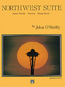 Cover icon of Northwest Suite sheet music for concert band (full score) by John O'Reilly, easy/intermediate