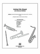 Cover icon of United We Stand (COMPLETE) sheet music for Choral Pax by Anonymous, Sally K. Albrecht and Jay Althouse, easy/intermediate