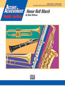 Cover icon of Honor Roll March (COMPLETE) sheet music for concert band by Mark Williams