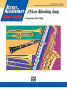 Cover icon of African Marching Song (COMPLETE) sheet music for concert band by Anonymous and John O'Reilly, easy concert band