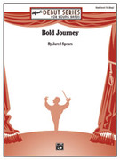 Cover icon of Bold Journey sheet music for concert band (full score) by Jared Spears