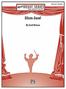 Cover icon of Slam Jam! (COMPLETE) sheet music for concert band by Scott Watson