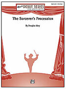Cover icon of The Sorcerer's Procession sheet music for concert band (full score) by Douglas Akey