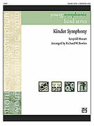 Cover icon of Kinder Symphony (COMPLETE) sheet music for concert band by Leopold Mozart and Rick Bowles