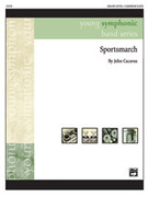 Cover icon of Sportsmarch sheet music for concert band (full score) by John Cacavas
