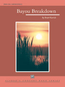 Cover icon of Bayou Breakdown sheet music for concert band (full score) by Brant Karrick