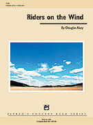 Cover icon of Riders on the Wind sheet music for concert band (full score) by Douglas Akey, easy/intermediate