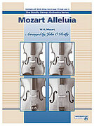 Cover icon of Mozart Alleluia sheet music for string orchestra (full score) by Wolfgang Amadeus Mozart and John O'Reilly