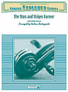 Cover icon of The Stars and Stripes Forever sheet music for string orchestra (full score) by John Philip Sousa and Andrew H. Dabczynski