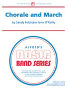 Cover icon of Chorale and March sheet music for concert band (full score) by Sandy Feldstein, beginner skill level