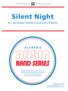 Cover icon of Silent Night sheet music for concert band (full score) by Anonymous, Sandy Feldstein and John O'Reilly