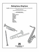 Cover icon of Swing Low, Sing Low (COMPLETE) sheet music for Choral Pax by Anonymous and Philip Kern, easy/intermediate
