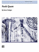 Cover icon of Rock Quest (COMPLETE) sheet music for concert band by Steve Hodges, intermediate