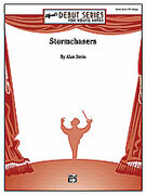 Cover icon of Stormchasers sheet music for concert band (full score) by Alan Stein, intermediate skill level