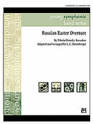 Cover icon of Russian Easter Overture sheet music for concert band (full score) by Nikolai Rimsky-Korsakov and Nikolai Rimsky-Korsakov, classical score, intermediate