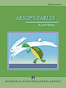 Cover icon of Aesop's Fables sheet music for concert band (full score) by Scott Watson