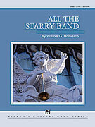Cover icon of All the Starry Band sheet music for concert band (full score) by William G. Harbinson