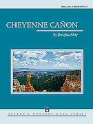 Cover icon of Cheyenne Canon sheet music for concert band (full score) by Douglas Akey