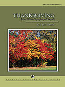 Cover icon of Thanksgiving sheet music for concert band (full score) by J. Eric Schmidt