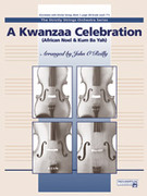 Cover icon of A Kwanzaa Celebration sheet music for string orchestra (full score) by Anonymous and John O'Reilly