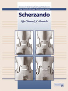 Cover icon of Scherzando (COMPLETE) sheet music for string orchestra by Edmund J. Siennicki