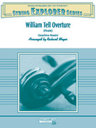 Cover icon of William Tell Overture sheet music for string orchestra (full score) by Gioacchino Rossini, classical score, easy