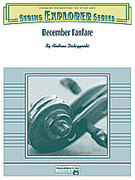 Cover icon of December Fanfare sheet music for string orchestra (full score) by Andrew H. Dabczynski