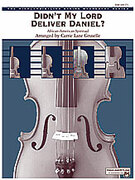 Cover icon of Didn't My Lord Deliver Daniel? (COMPLETE) sheet music for string orchestra by Anonymous and Carrie Lane Gruselle, easy/intermediate orchestra