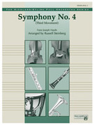 Cover icon of Symphony No. 4 sheet music for full orchestra (full score) by Franz Joseph Haydn and Russell Steinberg