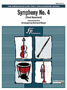 Cover icon of Symphony No. 4 sheet music for full orchestra (full score) by Johannes Brahms