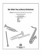 Cover icon of We Wish You A Merry Christmas sheet music for Choral Pax (full score) by Anonymous and David Lanz