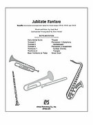 Cover icon of Jubilate Fanfare sheet music for Choral Pax (full score) by Andy Beck