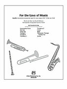 Cover icon of For the Love of Music (COMPLETE) sheet music for Choral Pax by Russell Robinson and Russell Robinson, easy/intermediate