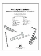 Cover icon of Afrika Kyrie na Sanctus sheet music for Choral Pax (full score) by Andy Beck