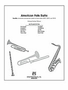 Cover icon of American Folk Suite (COMPLETE) sheet music for Choral Pax by Anonymous and Jay Althouse