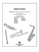 Cover icon of Alleluia Fanfare (COMPLETE) sheet music for Choral Pax by Earlene Rentz and Steve Herold