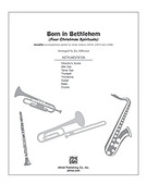 Cover icon of Born in Bethlehem sheet music for Choral Pax (full score) by Anonymous and Jay Althouse, easy/intermediate