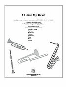 Cover icon of If I Have My Ticket sheet music for Choral Pax (full score) by Anonymous and Donald Moore