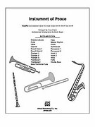 Cover icon of Instrument of Peace (COMPLETE) sheet music for Choral Pax by Greg Gilpin