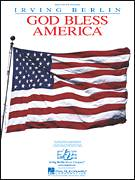 Cover icon of God Bless America sheet music for piano solo (big note book) by Irving Berlin and Celine Dion, easy piano (big note book)