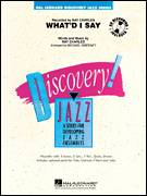 Cover icon of What'd I Say (COMPLETE) sheet music for jazz band by Ray Charles and Michael Sweeney