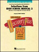 Cover icon of Selections from High School Musical 2 (COMPLETE) sheet music for concert band by Robert Longfield, intermediate concert band
