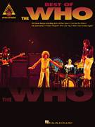 Cover icon of Who Are You sheet music for guitar (tablature) by The Who and Pete Townshend, intermediate skill level