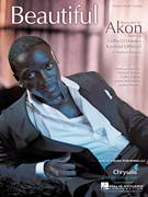 Cover icon of Beautiful sheet music for voice, piano or guitar by Akon featuring Colby O'Donis & Kardinal Offishall, Akon, Kardinal Offishall, Aliaune Thiam, Colby Colon, Jason Harrow and Jaylen Wesley, intermediate skill level