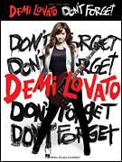 Cover icon of Don't Forget sheet music for voice, piano or guitar by Demi Lovato, Joseph Jonas, Kevin Jonas II and Nicholas Jonas, intermediate skill level