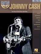Cover icon of The Man In Black sheet music for guitar (tablature, play-along) by Johnny Cash, intermediate